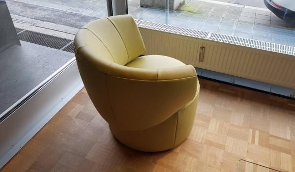Polsterhaus Schlosser Sessel Rolf Benz 684